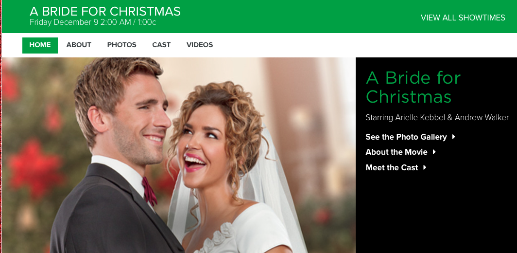 A Bride For Christmas Cast.Archive Christmas Movie Guide 2016 Coffeebreakwithfriends